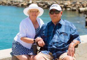 grandparents travelling